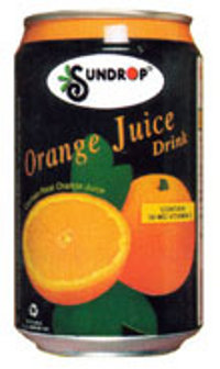 Orange Juice Can
