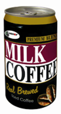 Milk Coffee Can