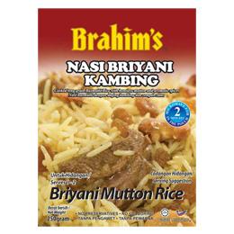 Brahim's Lamb Briyani Rice