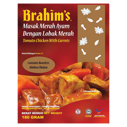 Brahim's Red Chicken With Carrot