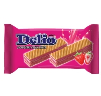 DELIO Strawberry Cream Wafer