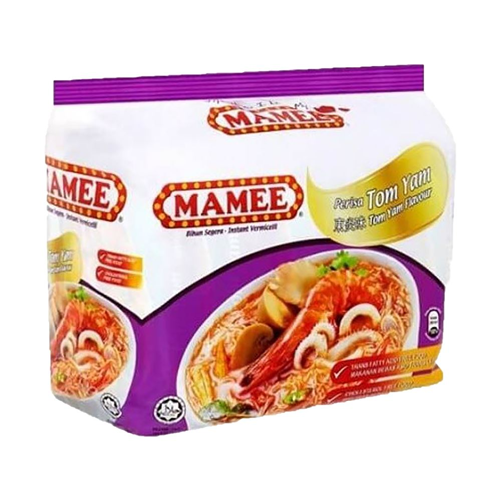 Mamee Premium Instant Noodle Tom Yam 8 x 5x 75g