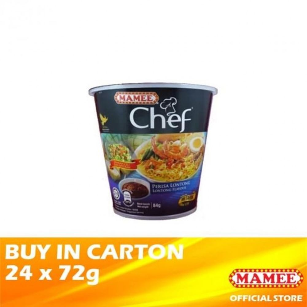 Mamee Chef Cup 1's Lontong 24 x 84g