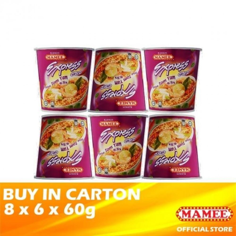 Mamee Express Cup Tom Yam 8 x 6 x 60g