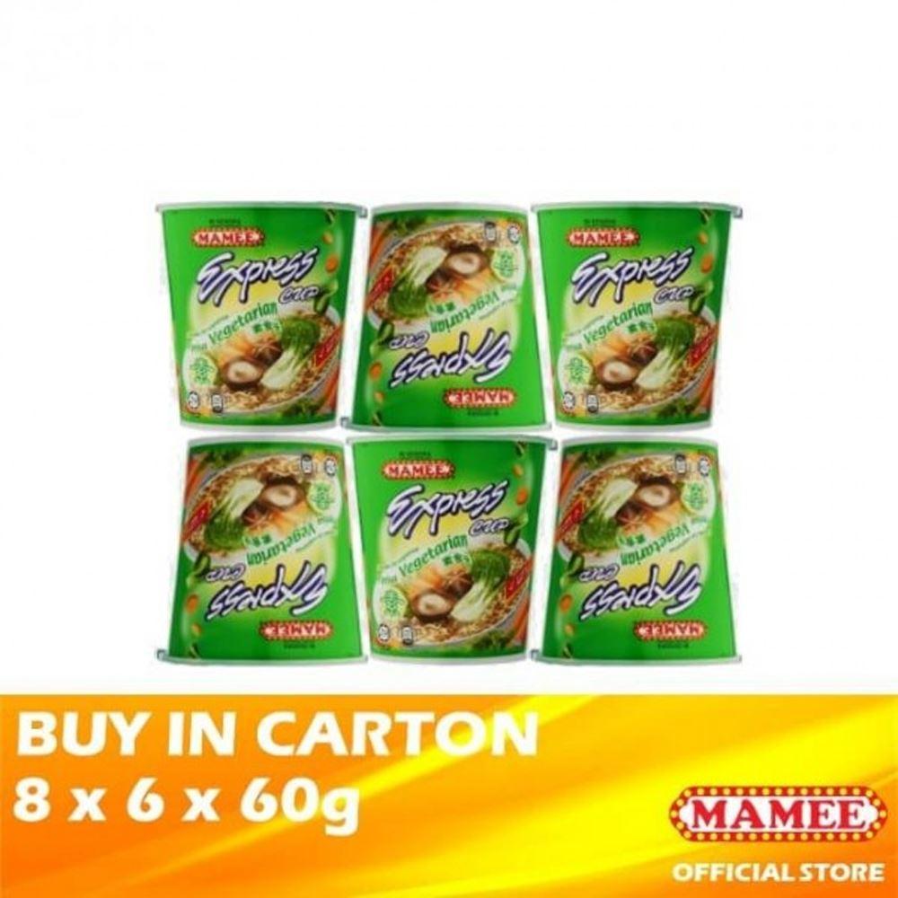 Mamee Express Cup Vegetarian 8 x 6 x 60g