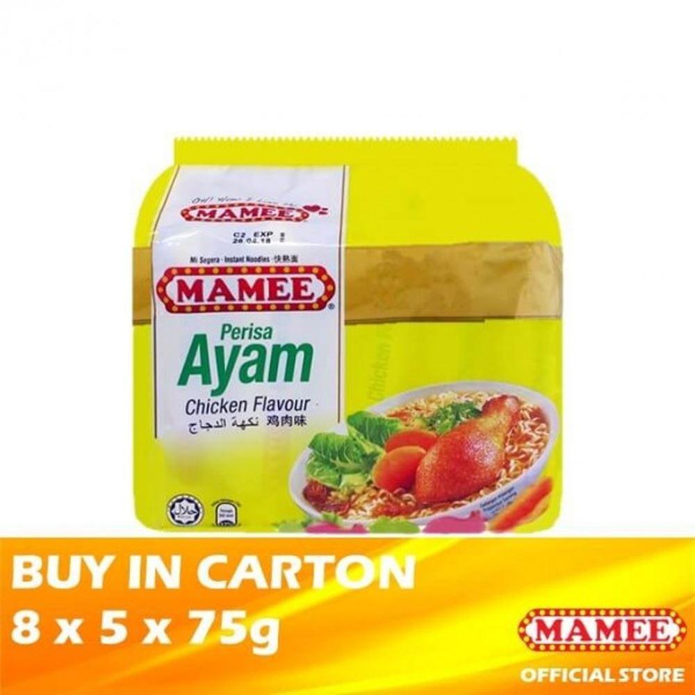 Mamee Premium Instant Noodle Chicken 8 x 5 x 75g