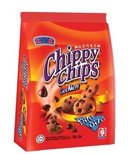Kerk Chippy Chips Cookies 120g x 24pkts