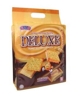 Kerk Deluxe Sandwich (Peanut Butter) 230g (10sac) x 12pkts