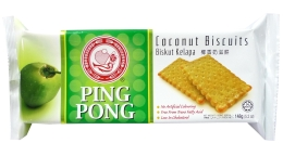 Ping Pong Coconut Biscuits 148g x 24pkts