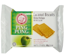 Ping Pong Coconut Biscuits 68g x 36pkts