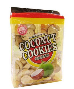 Ping Pong Coconut Cookies 200g x 12pkts