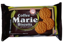 Ping Pong Coffee Marie Biscuits 350g x 12pkts