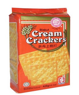 Ping Pong Cream Crackers 428g x 12pkts