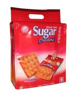Ping Pong Sugar Crackers 250g (10sac) x 12pkts
