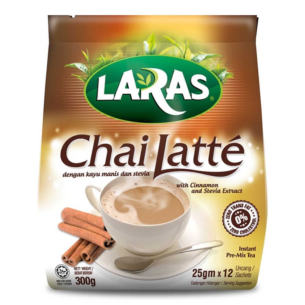 Chai Latte with Cinnamon and Stevia