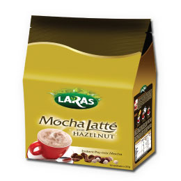 Mocha Latte with Hazelnut