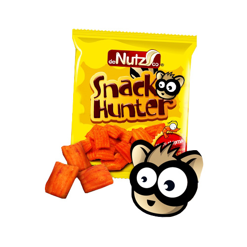 Snack Hunter - Spicy Shrimp Flavoured Crackers