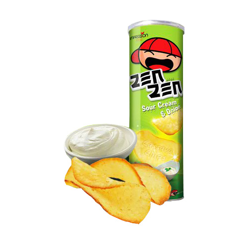Zen Zen Sour Cream & Onion Cassava Chips