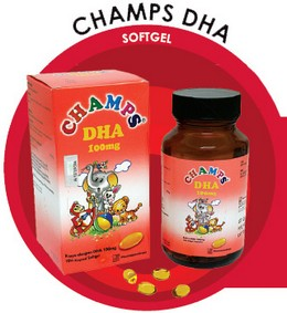 Champs DHA Softgel