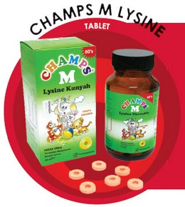 Champs M With Lysine Tablet