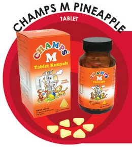 Champs M Pineapple Tablet