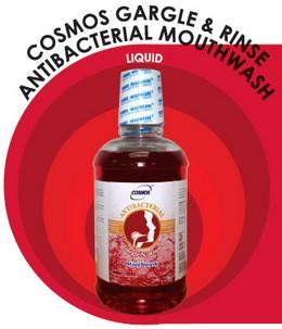 Cosmos Gargle & Rinse Antibacterial Mouthwash Liquid