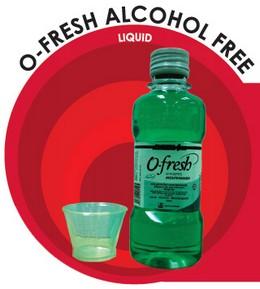 O-Fresh Alcohol Free Liquid