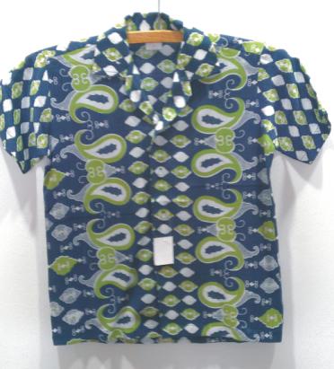 Kemeja Hawaii Bdk Print S - 40651