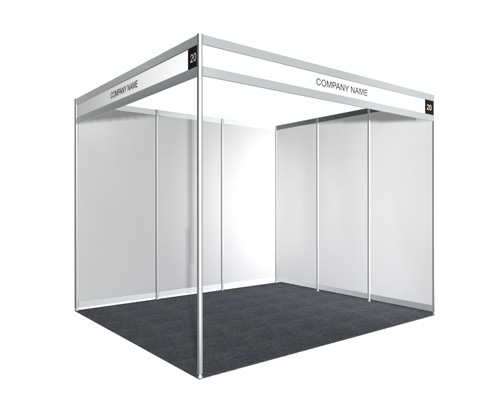 3m x 3m Booth - Early Bird Promo Price - Sambutan Bulan Pengguna 2012
