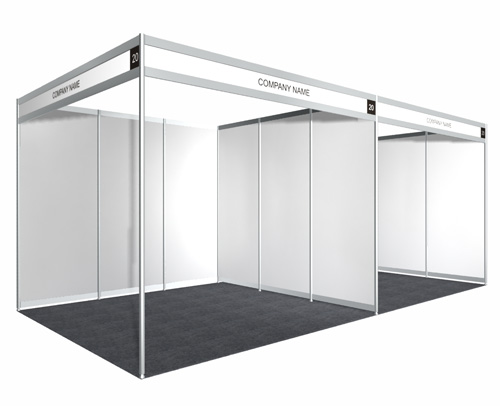3m x 6m Booth - Early Bird Promo Price - Sambutan Bulan Pengguna 2012
