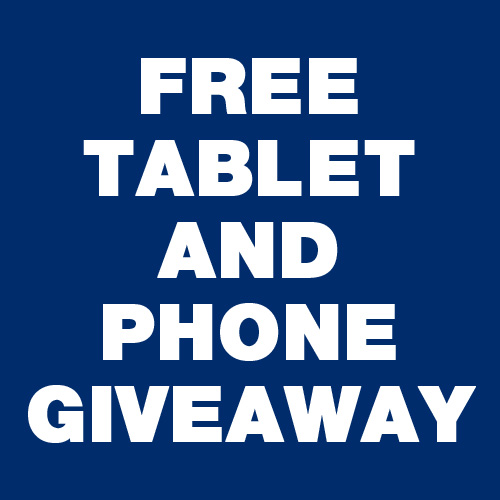 Free Tablet And Phone Giveaway
