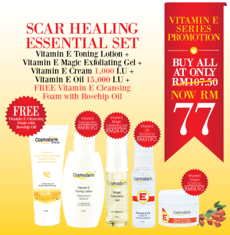 Promotion: Scar Healing Essential Set