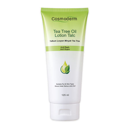 Tea Tree Oil Lotion Talc