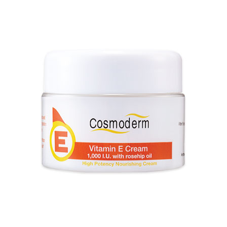 Vitamin E Cream 1,000 I.U. with Rosehip Oil