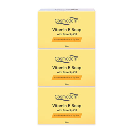 Vitamin E Soap with Rosehip Oil