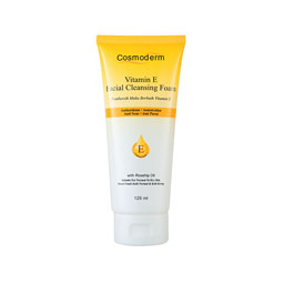 Vitamin E Facial Cleansing Foam with Rosehip Oil