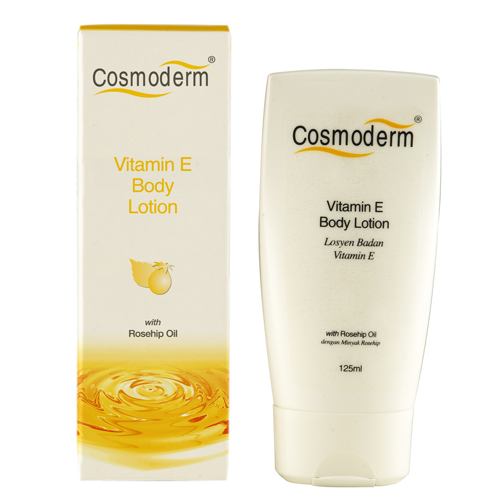 Vitamin E Body Lotion with Rosehip Oil
