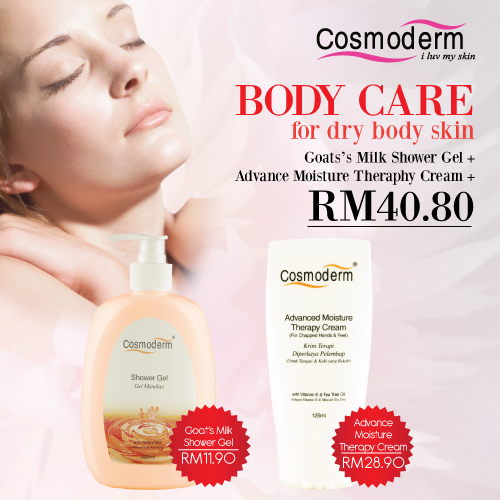 Body Care for Dry Body Skin