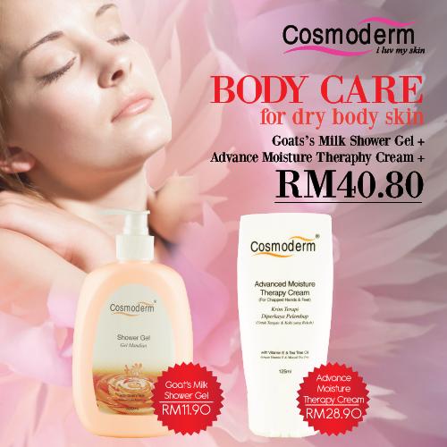 Body Care for Dry Body Skin