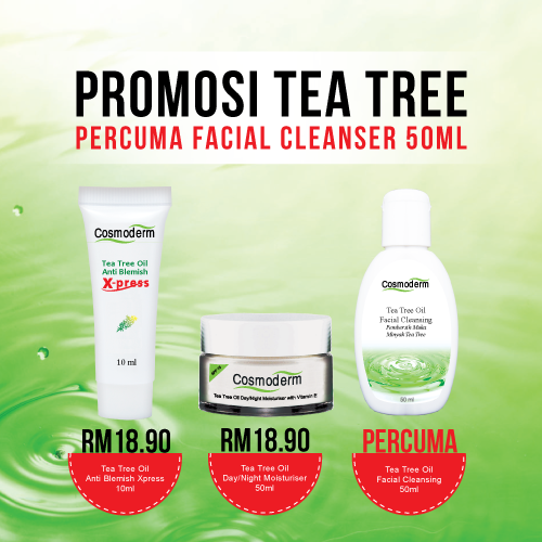 PROMOSI - Percuma Facial Cleanser 50ml