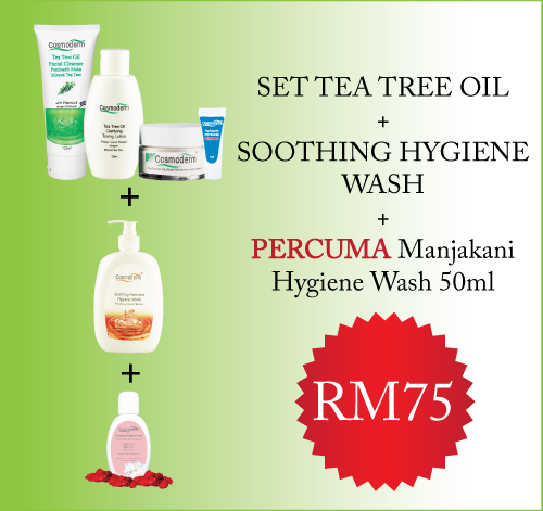 Tea Tree Oil Set + Soothing Hygiene Wash