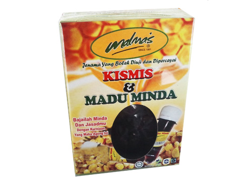 Madu 2 In 1 (Kismis+Madu)