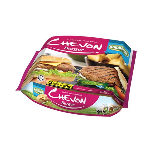 Chevon Burger (Burger Daging Kambing)