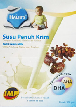 Halib's Full Cream Milk