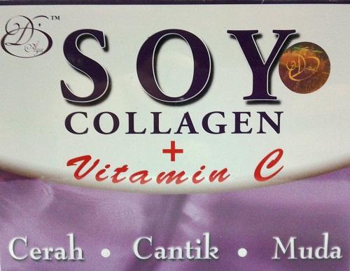 Soy Collagen + Vitamin C (Vanilla Flavour)