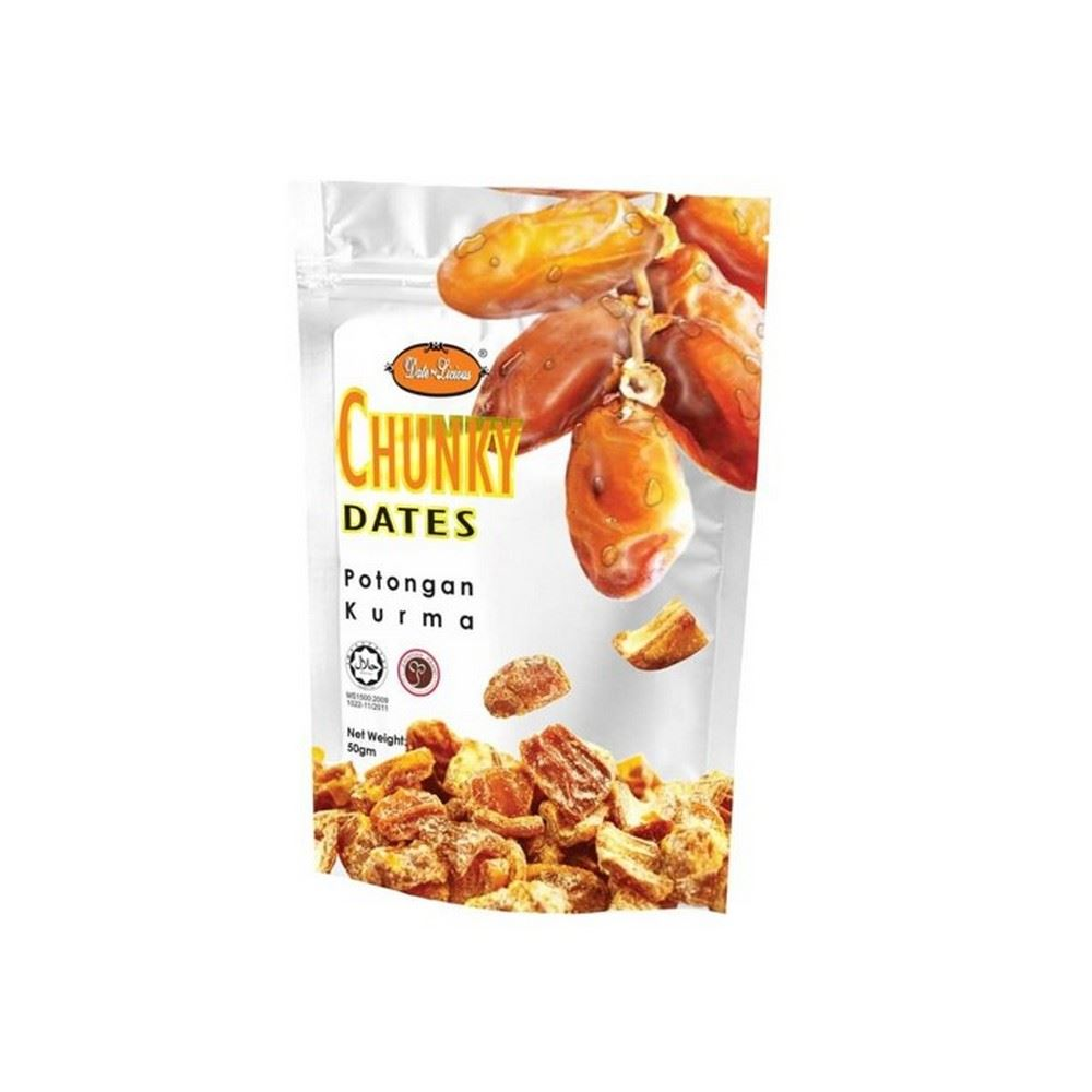Date-Licious Dried Fruit Pouch - Chunky Dates