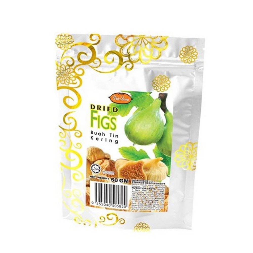 Date-Licious Dried Fruit Pouch - Dried Figs
