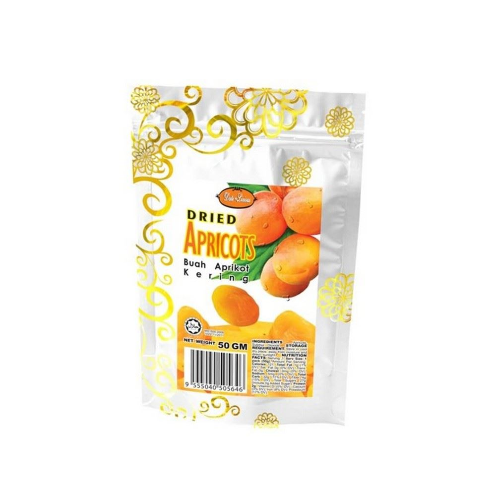 Date-Licious Dried Fruit Pouch - Dried Apricots