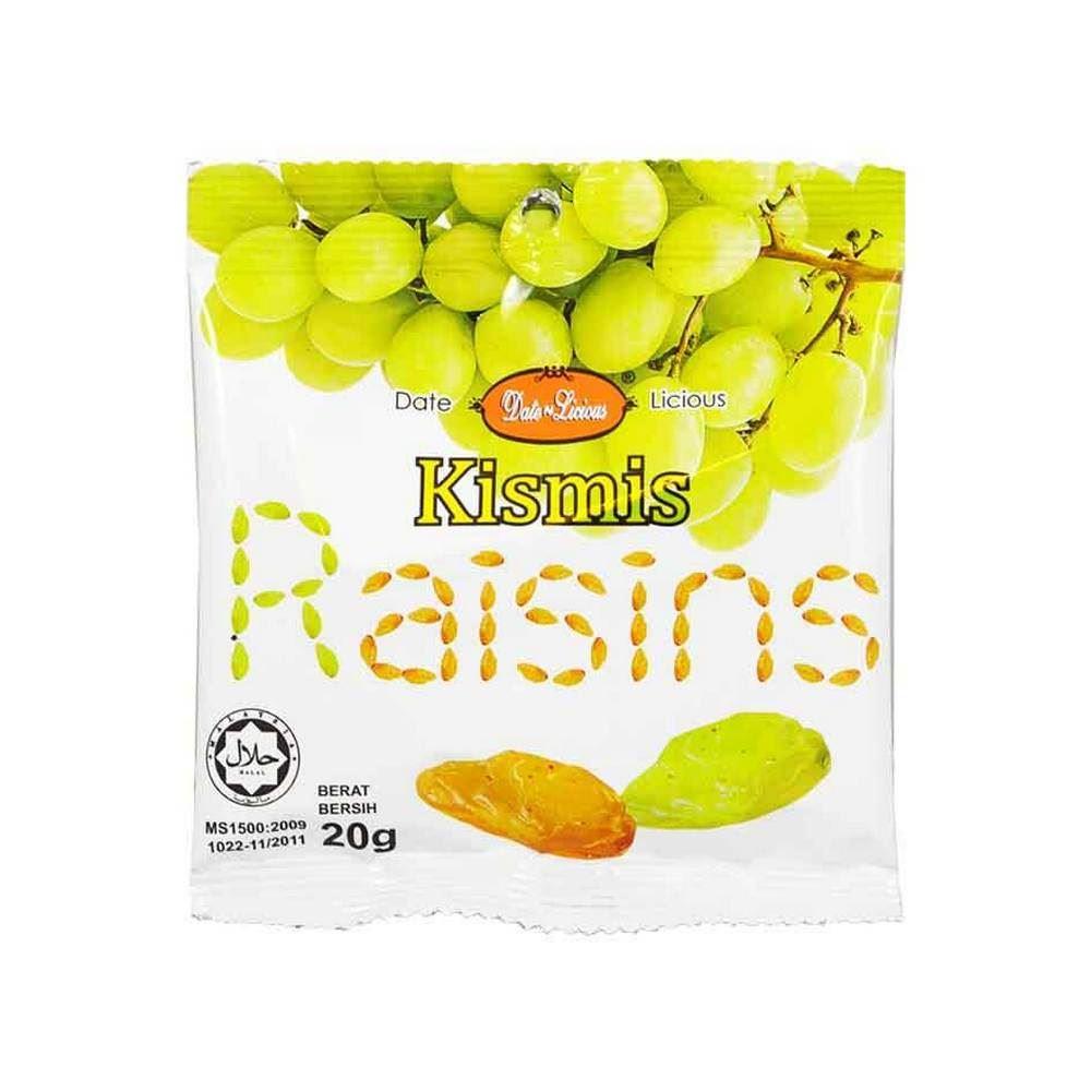 Date-Licious Snekfruit - Raisins