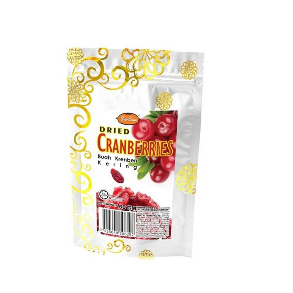 Date-Licious Dried Fruit Pouch - Dried Cranberry